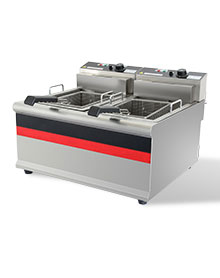 台式双缸双筛电炸炉 - IDZL-904