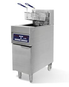 18KW 立式电脑版单槽电炸炉 IDZL-18-1