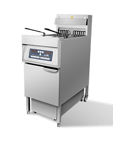 9KW 立式带滤油车电脑版单槽炸炉 IDZL-9-1T