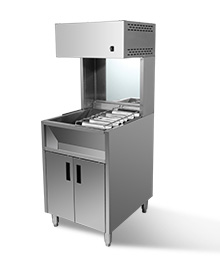 1米落地薯条保温展示柜 ISTZ-10